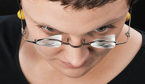 Prismenbrille